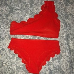NWOT Shein One Shoulder Bathing Suit